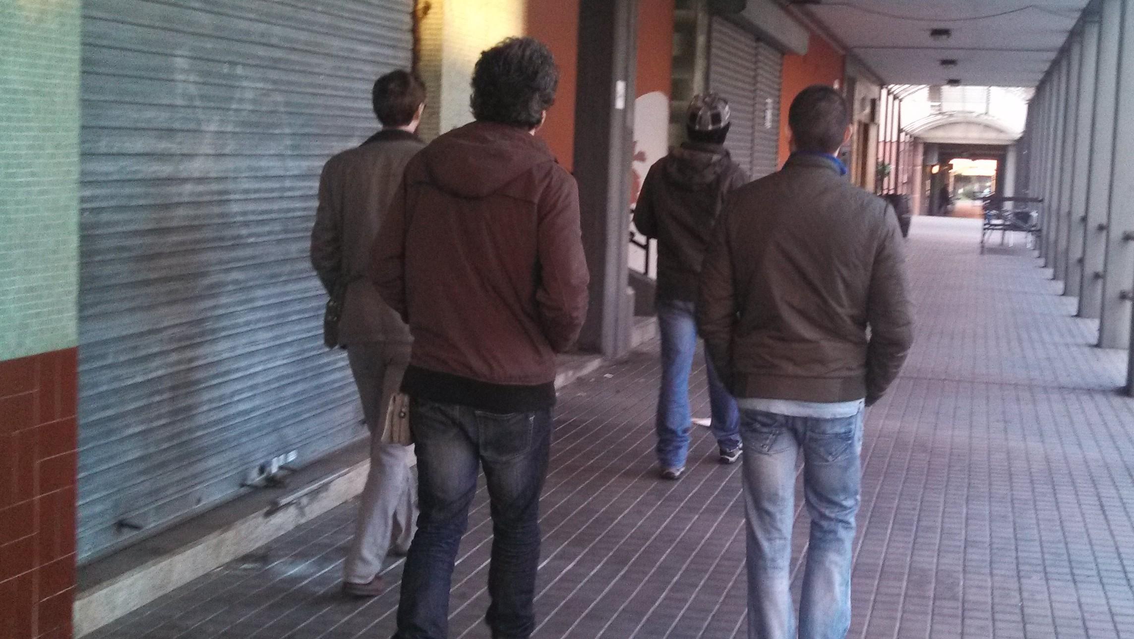 Hackers chillin' at A Coruña